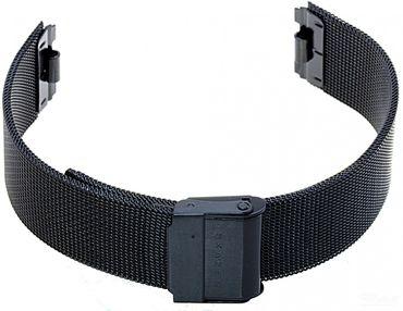 Uhrenarmband für Skagen 233STMB  Mesh Edelstahl schwarz Ersatzband