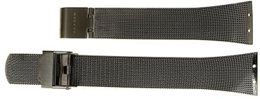 Uhrenarmband für Skagen 380XSTTM1  380XSMM Mesh Edelstahl Ersatzband grau
