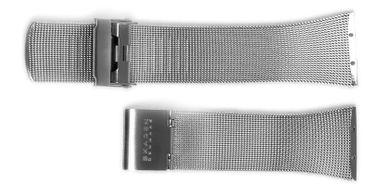 Uhrenarmband für Skagen Slimline 380SSS 523S Mesh Edelstahl Milanaise Ersatzband