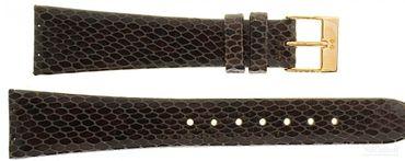 Uhrenarmband für Skagen 523XSRLD8 Leder Schließe rosé Ersatzband 20mm