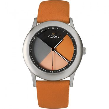 noon copenhagen Armbanduhr Design Kollektion orange 17-006