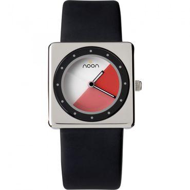 noon copenhagen Damenuhr Design Kollektion schwarz-rot 32-002