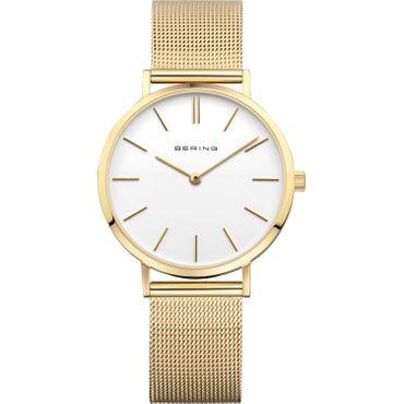 BERING Armbanduhr Classic vergoldet 14134-331