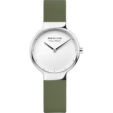 BERING Uhr by Max René Silikonband olivgrün 15531-800