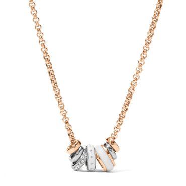 Fossil Collier für Damen Classics Edelstahl JF01122998
