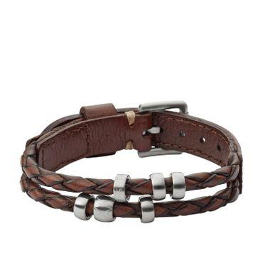 Fossil Armband für Herren Vintage Casual Leder JF02345040