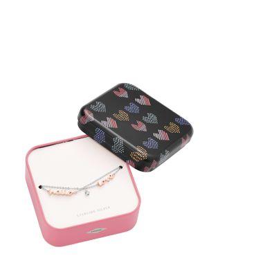 Fossil Armband für Damen Sterling Silver Bracelet Sterling Silver JFS00420998