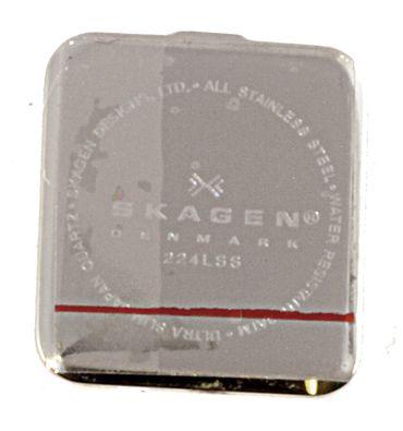 Original Uhren Gehäuseboden für Skagen 224LSS / 224LSSM