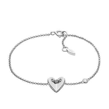 Fossil Armband für Damen Sterling 925 Sterling Silver JFS00424040