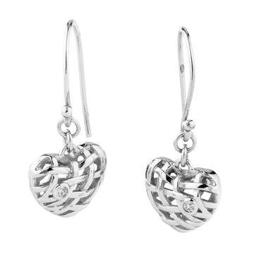 Ohrhaken für Damen echt 925 Silber ST1102