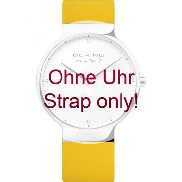 BERING Wechselband für Max René Uhr 15540-XXX (groß) Silikon gelb