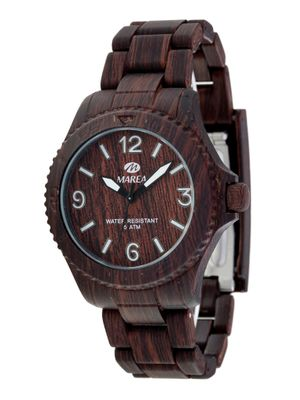 Marea Armbanduhr Woodlook in Holz-Optik B35295/9