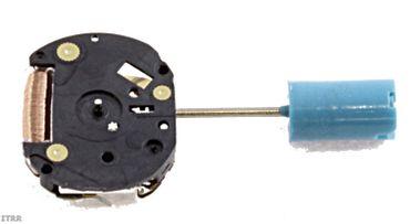 Uhrwerk Shiojiri 1F20 Ersatzwerk für Armbanduhr Quarz Analog 4 ¾ Linien