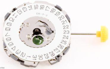 Uhrwerk Citizen 2510 A Ersatzwerk für Armbanduhr Quarz Analog 10 ½ Linien