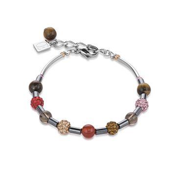 Coeur de Lion Armband rot-braun 4901/30-0311