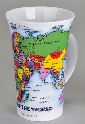 Dunoon Kaffeebecher Glencoe (500ml) Weltkarte