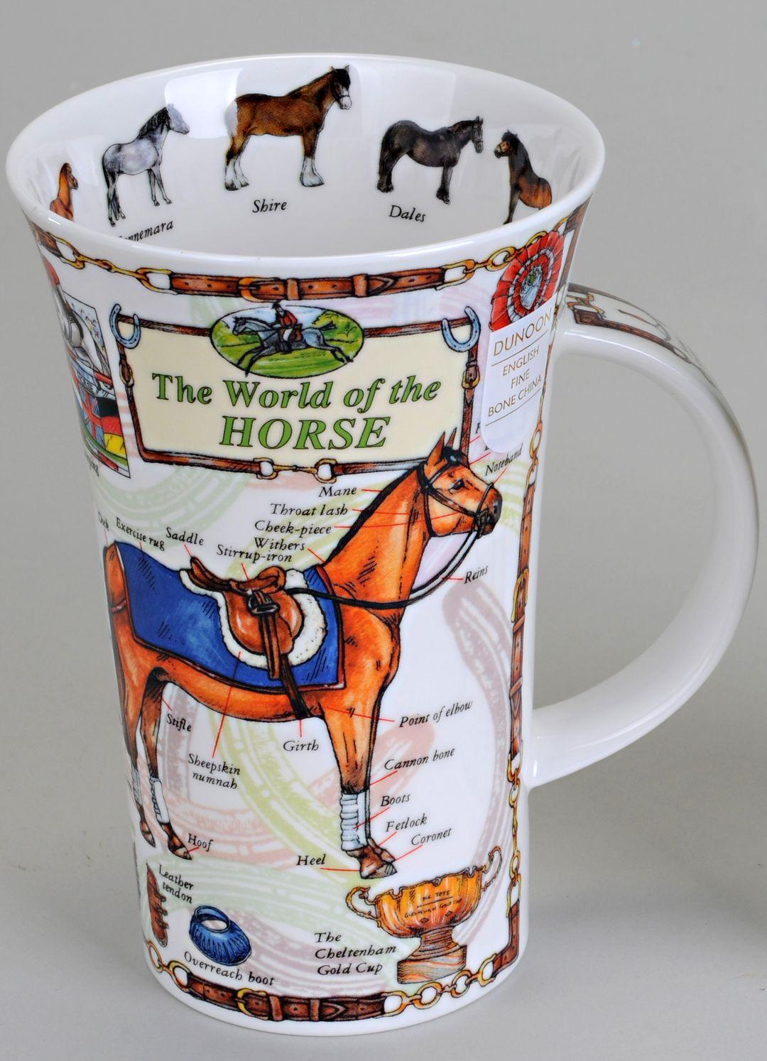 dunoon kaffeebecher glencoe 500ml die welt der pferde ebay. Black Bedroom Furniture Sets. Home Design Ideas