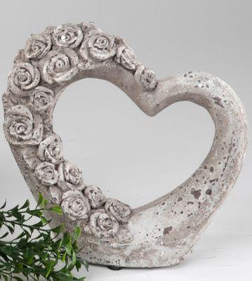 Deko-Herz Rosenranke 20cm Gartendeko