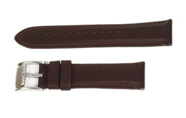 Fossil Uhrenarmband Leder für ME3027 Grant 22mm