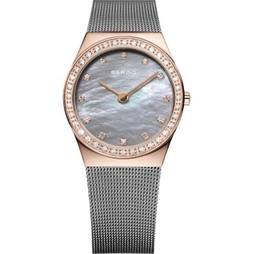 BERING Damenuhr mit Saphirglas Swarovski Classic Collection 12430-369