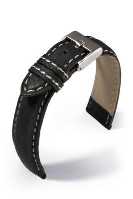 Uhrenarmband Imola Lederband mit Naht