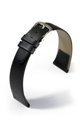 Uhrenarmband Leder mit Clip für feste Uhren-Stege