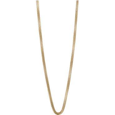 BERING Damen-Kette Milanaise für Charms Edelstahl vergoldet 45cm 423-20-450