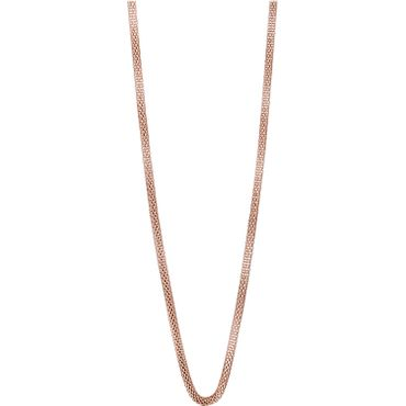 BERING Damen-Kette Milanaise für Charms Edelstahl rosé 423-30-X0