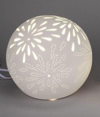 "Kugellampe ""Aurea - Blume"" 21cm"