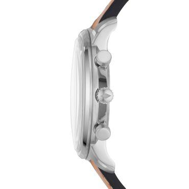Fossil Herren-Armbanduhr Goodwin Chrono Chronograph Quarz Leder braun FS5414