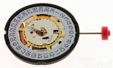 Uhrwerk Ronda 715 H3 Ersatzwerk für Armbanduhr Quarz Analog 11 ½ Linien