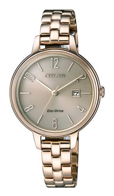 Citizen Damen-Armbanduhr Analog Eco-Drive EW2443-80X
