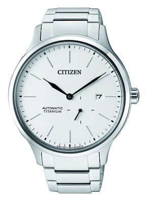 Citizen Herren-Armbanduhr Analog mechanisches Automatikwerk NJ0090-81A
