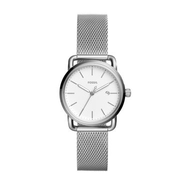 Fossil Damen-Armbanduhr The Commuter Analog Quarz ES4331