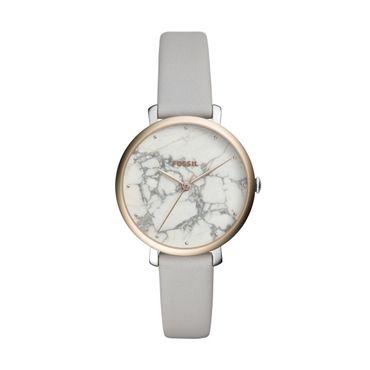 Fossil Damen-Armbanduhr Jacqueline Analog Quarz ES4377