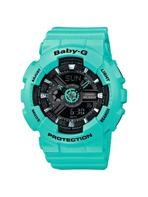 Casio Baby-G Damenuhr Analog-Digital Quarz mit Resin-Armband BA-111-3AER