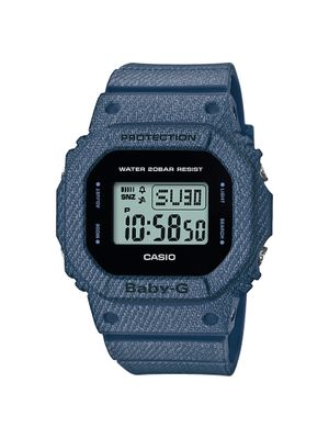 Casio Baby-G Damenuhr Digital Quarz mit Resin-Armband BGD-560DE-2ER