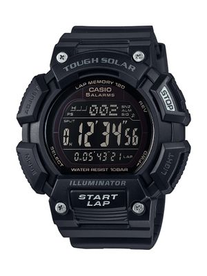 Casio Herrenuhr Digital Quarz Solar mit Resin-Armband STL-S110H-1B2EF