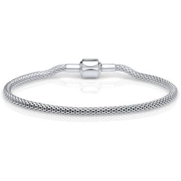 Bering Damen-Armband und Charm aus Edelstahl Charm-Set-56