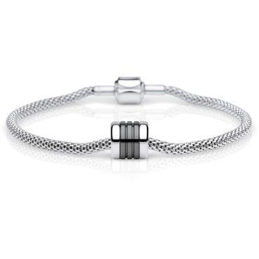 Bering Damen-Armband und Charm aus Edelstahl Loyalty Charm-Set-59