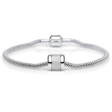 Bering Damen-Armband und Charm aus Edelstahl Charm-Set-60