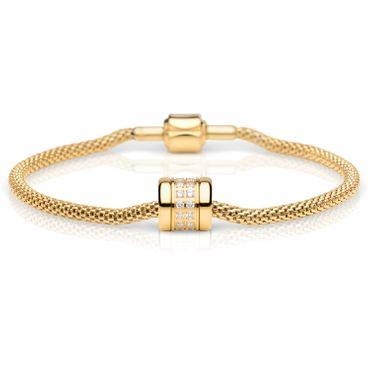 Bering Damen-Armband und Charm aus Edelstahl Charm-Set-63