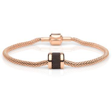 Bering Damen-Armband und Charm aus Edelstahl Fortune Charm-Set-68