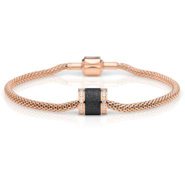 Bering Damen-Armband und Charm aus Edelstahl Confident Charm-Set-74