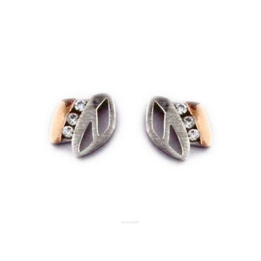 Damen-Ohrstecker aus 925 Sterling Silber mit Zirkonia YHE-05131