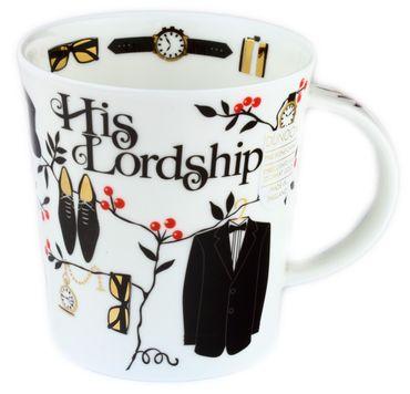 Dunoon Kaffeebecher Lomond (320ml) 2er Set Partnertassen His Lordship Her Ladyship