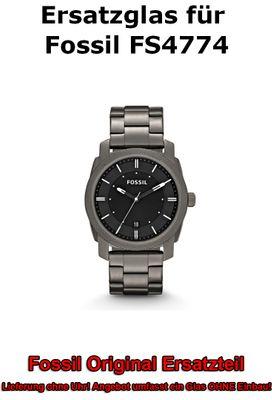 Ersatzglas für Fossil-Uhr Machine FS4774 original Uhrenglas