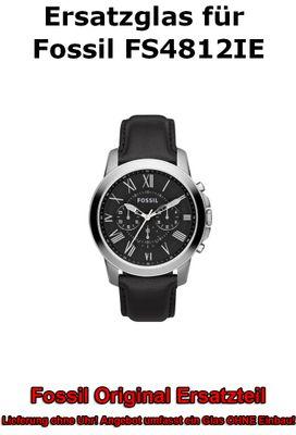 Ersatzglas für Fossil-Uhr Grant FS4812IE original Uhrenglas