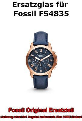 Ersatzglas für Fossil-Uhr Grant FS4835 original Uhrenglas
