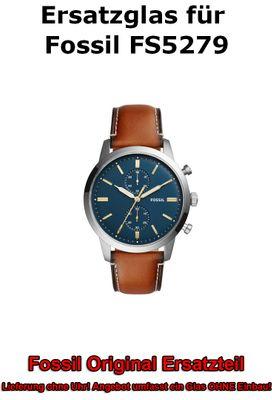 Ersatzglas für Fossil-Uhr 44Mm Townsman FS5279 original Uhrenglas